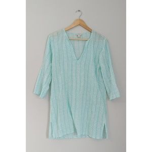 J. Crew Gauze Tissue Tunic Top // Cover-up